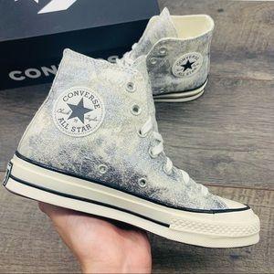 Converse All Star Chuck 70 HI Pure Silver